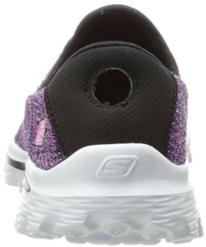 Skechers Go Walk 2hypo - Zapatillas Mujer Negro (bkmt)