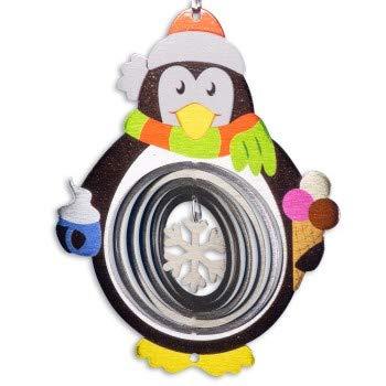 Cim Edelstahldekoration Pinguin 180 Winterdekoration Für In Und