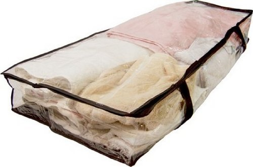 UNDERBED STORAGE BAG - ZIPPERED ROOM ORGANIZER - Neat 4 Less