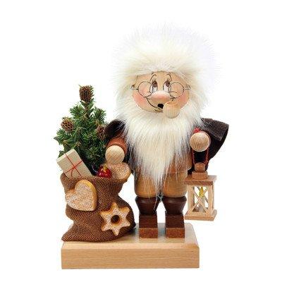 1-777 - Christian Ulbricht Smoker - Dwarf Santa - 11H'''' x 7.5W'''' x 6D'''' by Christian Ulbricht