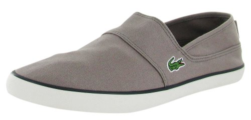 ae3252d7a Lacoste Marice Men s Slip On Shoes Canvas Gray Size 13 - Buy Online in  Oman.