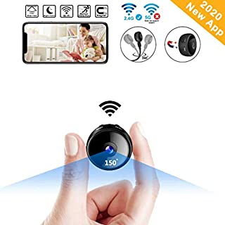 CreateGreat Mini Spy Camera Wireless Hidden WiF Camera HD 1080P Portable Home Security Cameras Nanny Cam Small Indoor Video Recorder Motion Activated Night Vision