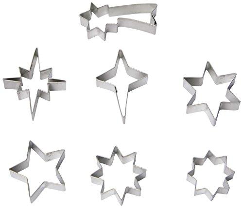 R & M Mini All Star 7 Piece Cookie Cutter Set, Tin