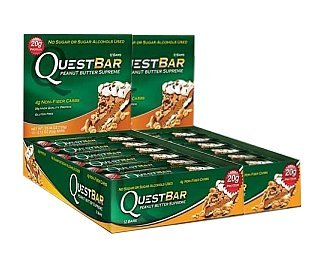 Quest Bar Peanut Butter Supreme (1-Pack of 24)