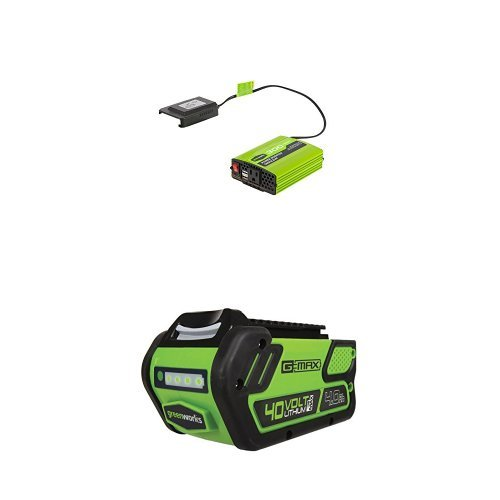 Greenworks 40V 300W Cordless Power Inverter with 4.0Ah 40V battery by Greenworks (Image #1)