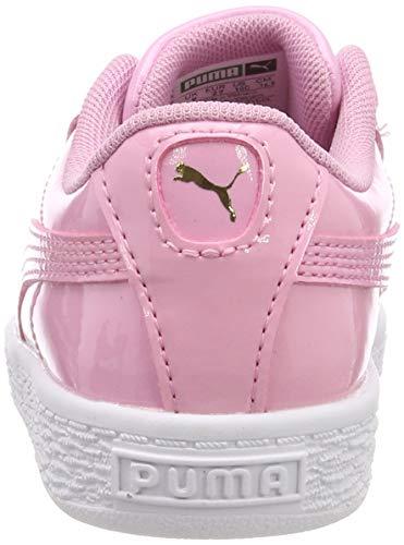 Da prism Inf Puma Basket Basse Heart prism Ginnastica Pink 03 Rosa Scarpe Pink Bimba Patent qBwXR