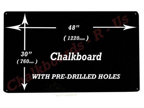 Gro/ße Tafel Tafel Men/ü Board 122 x 76cm 1220 mm x 760 mm