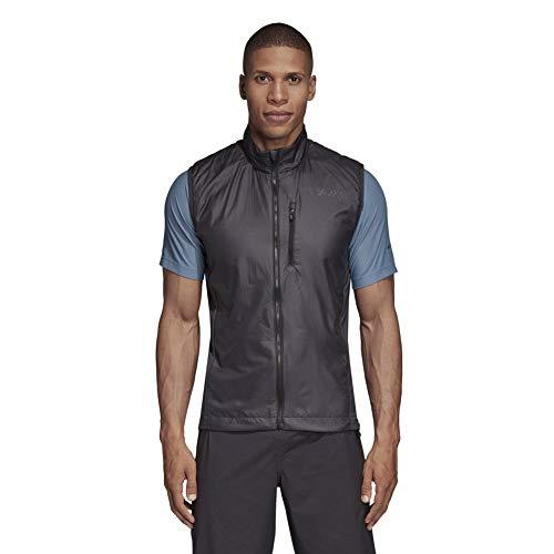 adidas Sport Performance Men's Agravic Alpha Vest, Carbon, M ()