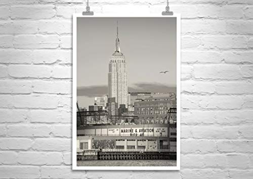 Empire State Building, New York Picture, Hudson River