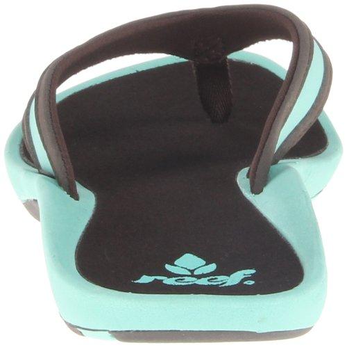 Reef Aqua Bleu femme pour Brown Sandales BgqrFUwXBn