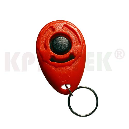 Dog Training Clicker - 50 PCS Pet Dogs Training Clicker Crisp and Easy to Carry Strap Design by D-4PET