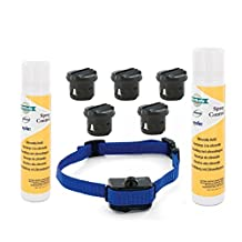 Value Pack Petsafe Elite Little Dog Spray Bark Control with Extra Citronella Spray Refill and 3-Volt 5 Batteries