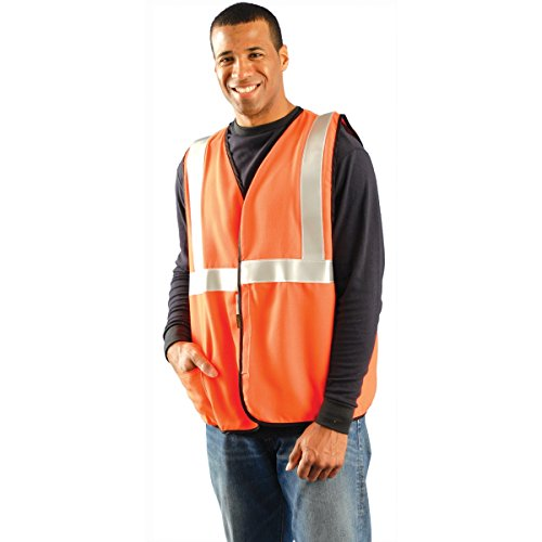 Occunomix - Economy Single Band Vest Dwos Occulux Economy Vest:Orange: 561-Lux-Ssg-O3X - occulux economy vest:orange - Economy Single Band