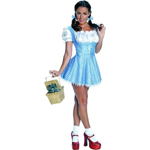 Sequin Dorothy Costume - Small - Dress Size (Dorothy Shoes From The Wizard Of Oz)