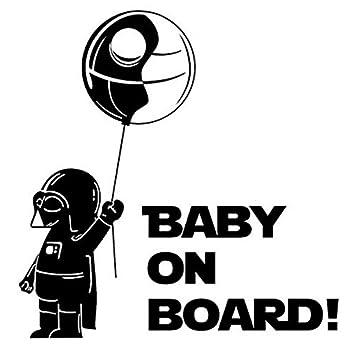 Amazon.com: Película de star wars bebé Vader on board ...