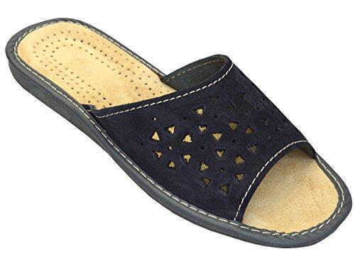 Bawal - Zapatillas de estar por casa para mujer Azul - azul marino