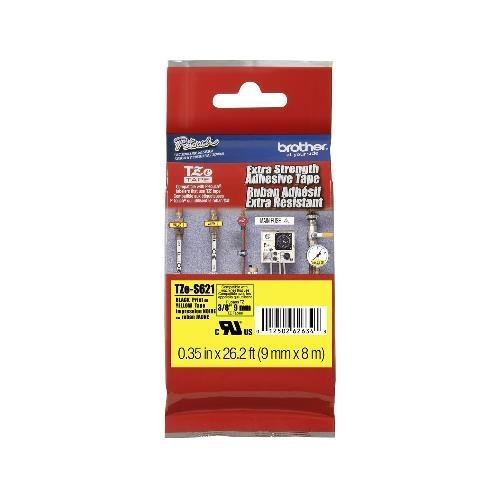 (Brother TZES621 Labels - 9mm (3/8