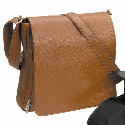 Bellino Hampton Leather Briefcase, Tan