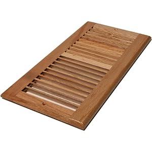 Decor Grates WL610R-N 6-Inch by 10-Inch Wood Return Air, Natural Oak