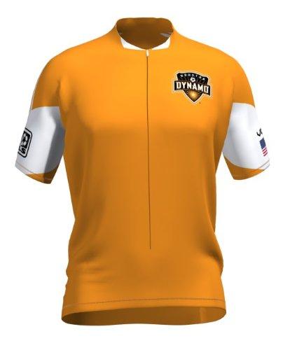 奨励します自殺振り子MLS Houston Dynamo Men 'sセカンダリ半袖Vomax Jersey