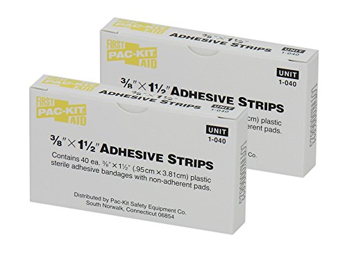 Pac-Kit by First Aid Only 1-040 Plastic Latexfree Adhesive B
