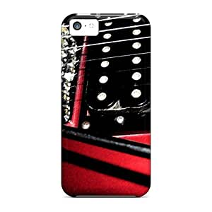 New Style E-Lineage Hard Case Cover For Iphone 5c- Guitar