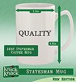 got packer? - 14oz Ceramic White Statesman Coffee