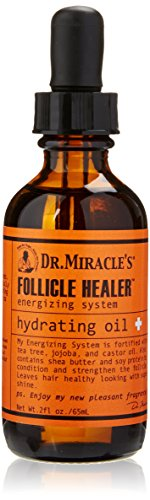 Dr. Miracle's Follicle Healer Hydrating Oil, 2 Ounce (Dr Miracle Hair Growth Before And After)