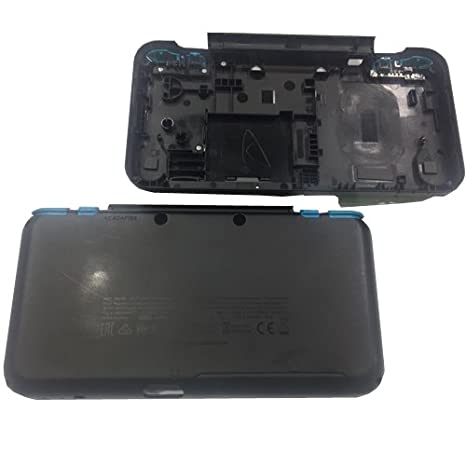 Carcasa Externa Inferior Negra Celeste Nintendo New 2ds XL ...