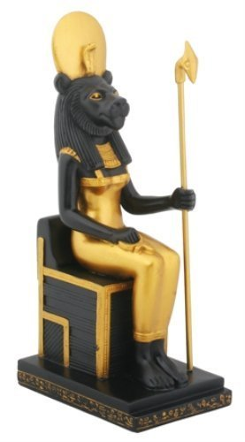 Sitting Sekhmet Collectible Figurine, Egypt