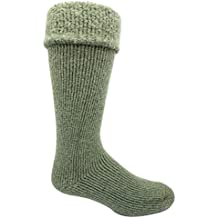 JB Field's -50 Below Icelandic Socks (Knee Length, Extra Warm Wool Cushion) - 2 Pairs