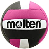 Molten Mini Volleyball, Black/Hot Pink
