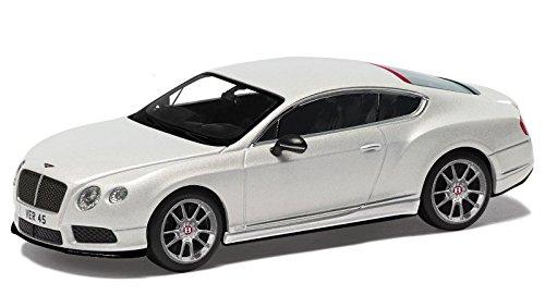 1/43 ベントレー コンチネンタル GT V8 S Launch Car ゴースト (ホワイト) CC57001
