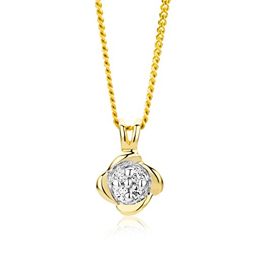Miore - MG9160N - Collier Femme - Or Jaune 9 Cts 375/1000 1.48 Gr