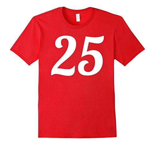 Number Red Tee - 5