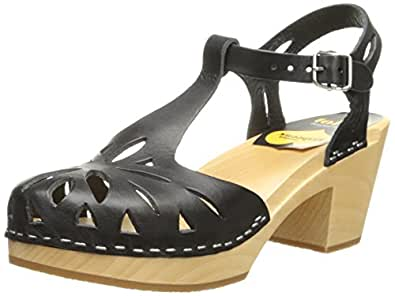Amazon.com | swedish hasbeens Women's Lacy Platform Sandal