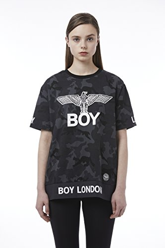 BOY London Unisex (S,M,L,XL) 18SS Camouflage Printed Shortsleeve T-Shirt - Camouflage New_(BH2TS145) (Camouflage, Small) by BOY London