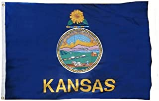 product image for Valley Forge Kansas 3ft x 5ft Spun Heavy Duty Polyester Flag