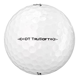 Titleist DT TRUSOFT-Near Mint AAAAGRADE-Recycled Used Golf BALLS-50 PK by Titleist