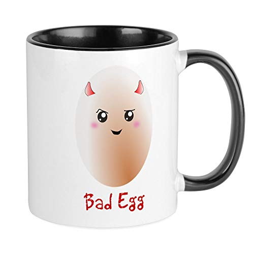 CafePress Funny Bad Egg Mug Unique Coffee Mug, Coffee Cup -