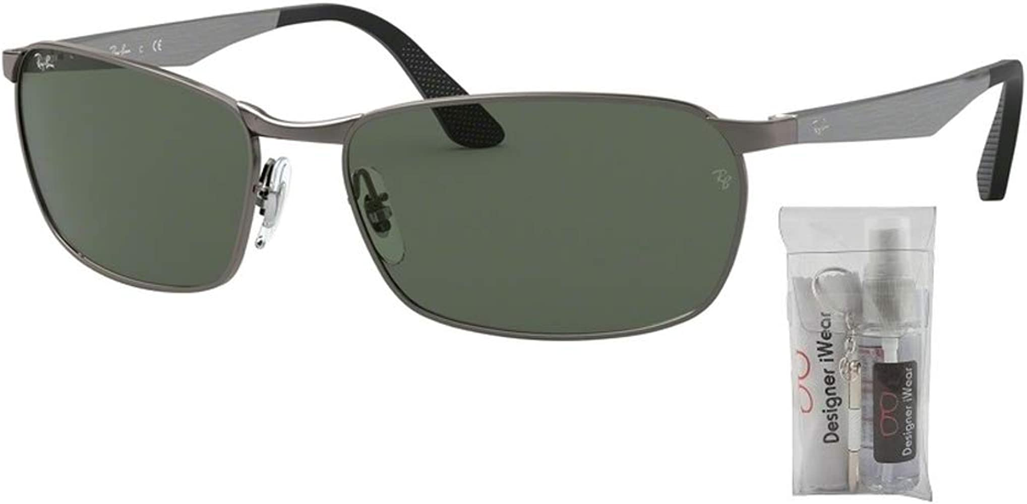 Ray-Ban RB3534 Sunglasses For Men: Amazon.es: Ropa y accesorios