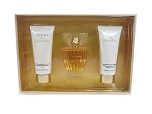 JENNI RIVERA 'JENNI' Women Gift Set Eau de Perfume 3.4oz Spray + 3.3oz Lotion + 3.3oz S/GEL
