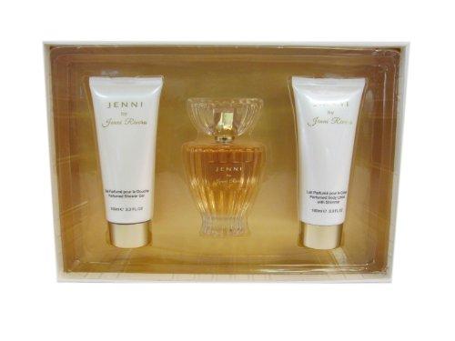 JENNI RIVERA JENNI Women Gift Set Eau de Perfume 3.4oz Spray 3.3oz Lotion 3.3oz S GEL