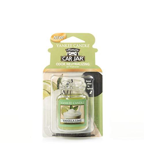 (Yankee Candle 5038580005639 one Size car jar Ultimate Vanilla Lime YCJUVL)