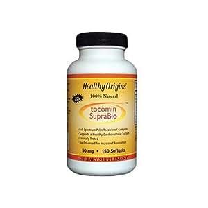 Amazon.com : Healthy Origins Tocomin SupraBio - 50 mg