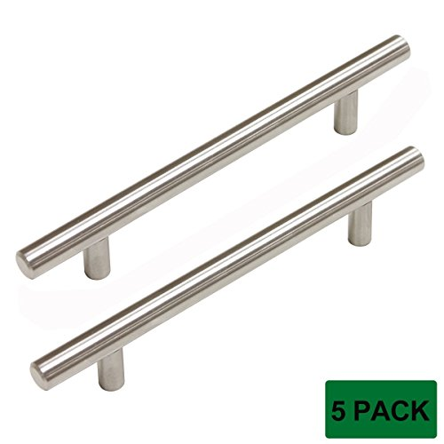 (Probrico Stainless Steel Kitchen Cabinet Drawer Handles Bedroom Dresser Pulls 5