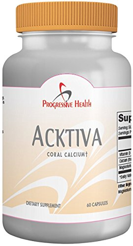 Acktiva: Calcium with Trace Minerals and Magnesium, 30 Servings - Includes: 800IU Vitamin D, 2000mg Coral calcium (400mg Yielding Calcium and 200mg Yielding Magnesium)