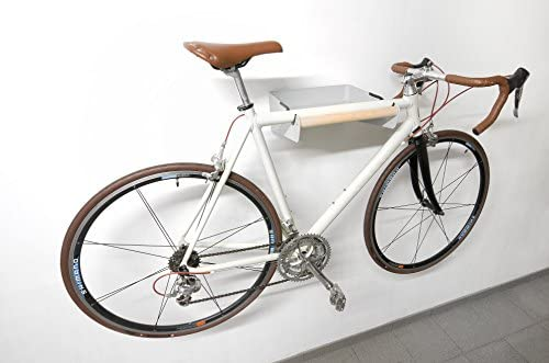 Estante de pared para colgar bicicletas y otros objetos: Amazon.es: Deportes y aire libre