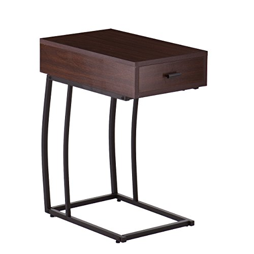 Southern Enterprises Porten Side Table w/Power & USB (With Drawer Table C)