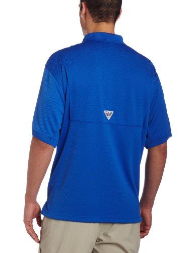 Columbia -  Polo  - Uomo Blu Vivid Blue PFG S